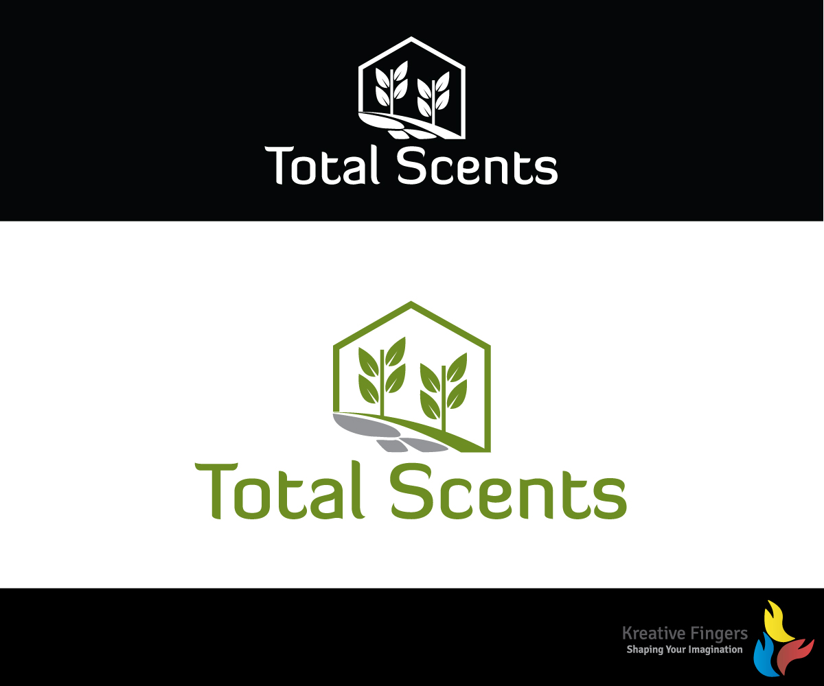 Modern Personable Home And Garden Logo Design For Total Scents By Kreative Fingers Design 10711419