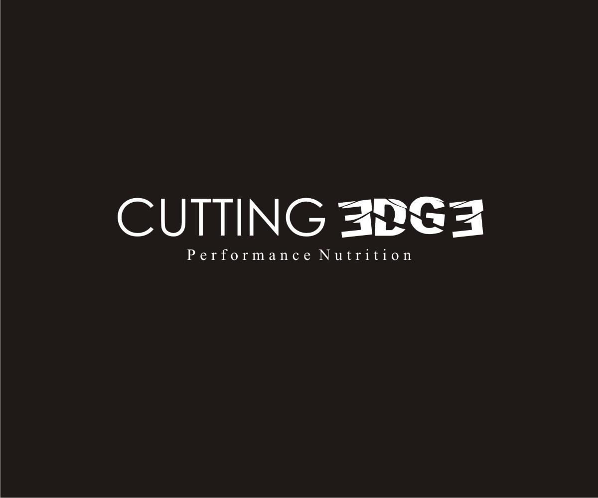 Serious Modern Fitness Logo Design For Cutting Edge Performance
