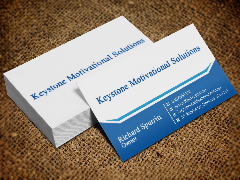 Masculine, Bold, Business Business Card Design for Keystone ...