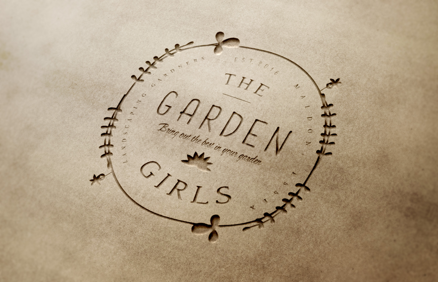 Elegant, Modern, Gardener Logo Design for The Garden Girls (with and ...