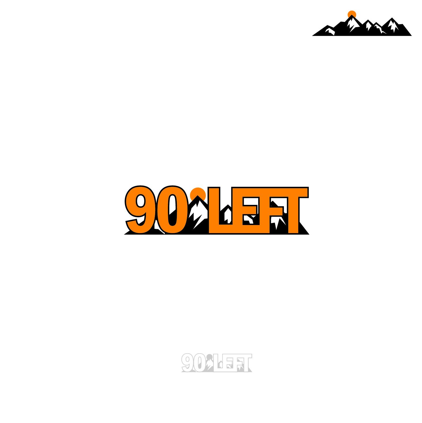 Modern Elegant It Company Logo Design For 90degree Symbolleft By