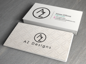 Business Card Design (Design #10760116) Submitted To AZ Designs Needs And Interior  Design