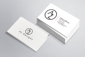 Business Card Design (Design #10761090) Submitted To AZ Designs Needs And Interior  Design