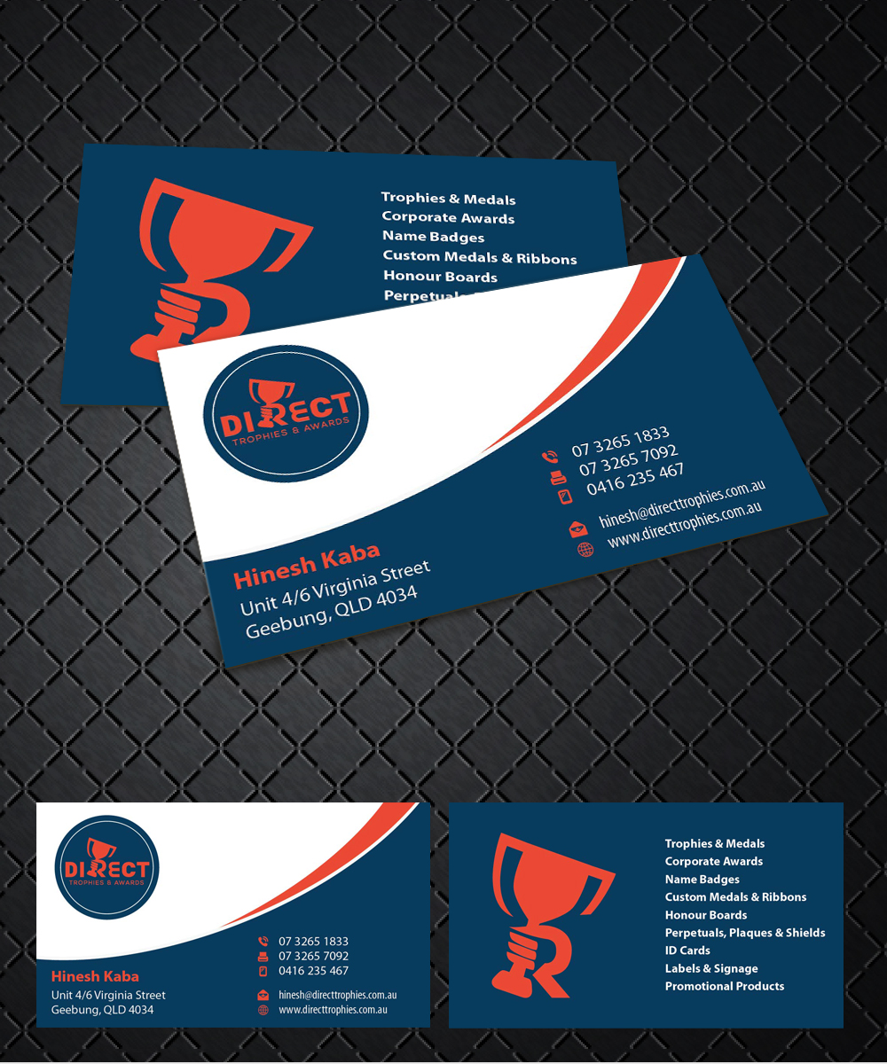 Serious modern business business card design for a company by business card design by joliau for this project design 10730240 reheart Images