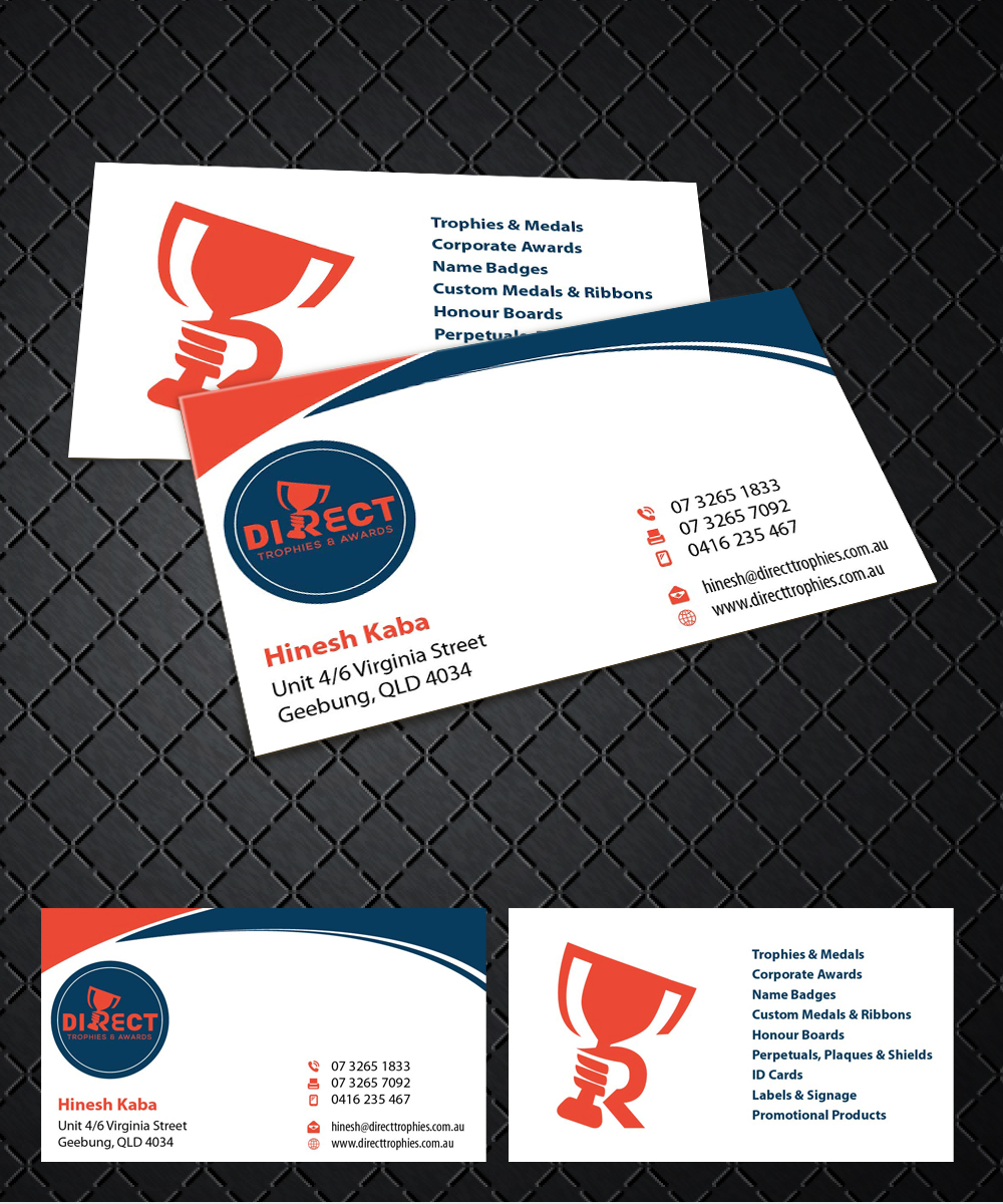 Serious modern business business card design for a company by business card design by joliau for this project design 10730244 reheart Images
