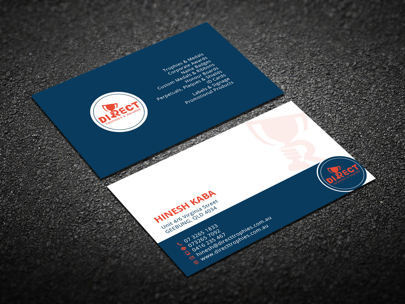 Serious, Modern, Business Business Card Design for a Company by ...