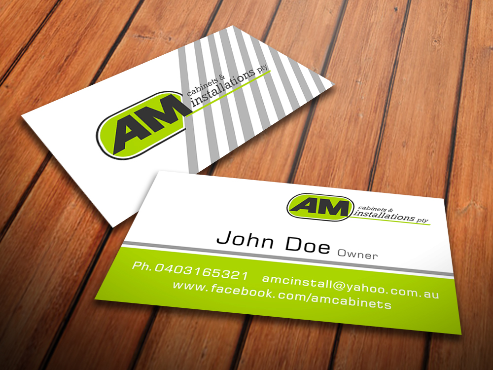 Elegant Playful Business Card Design For Anthony Mihalec By Giovanni Design 2245230