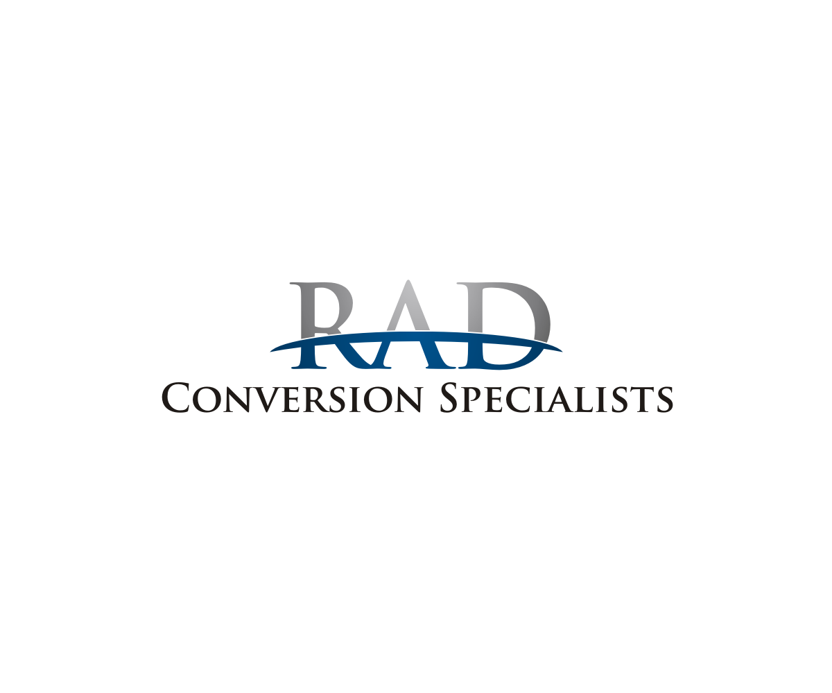 logo design for rad conversion specialists by menstrims