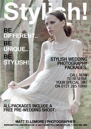 Flyer Design by D-Design - Wedding photographer services