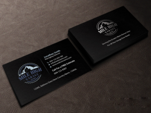 Business Card Design By Creations Box 2017 For Mile High Garage Door S Repair