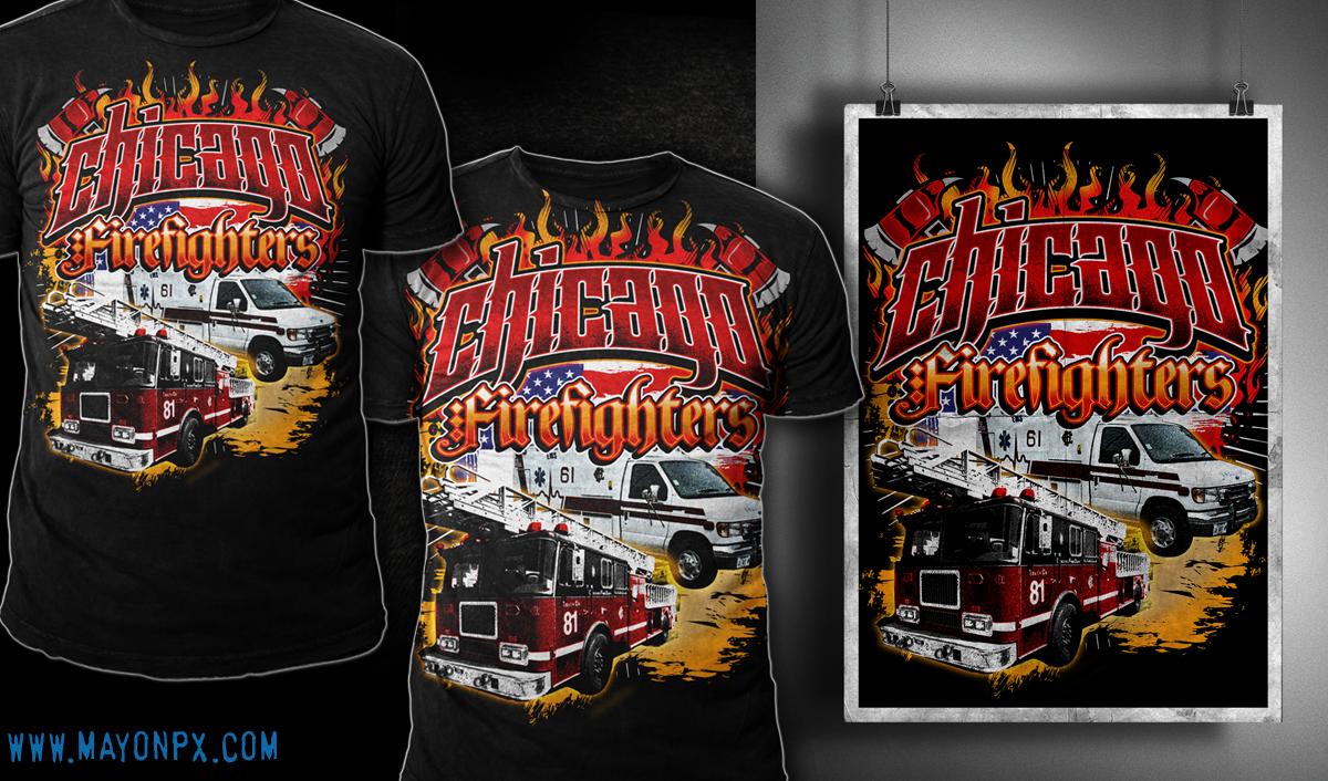 Custom Fire Department Shirts Bcd Tofu House