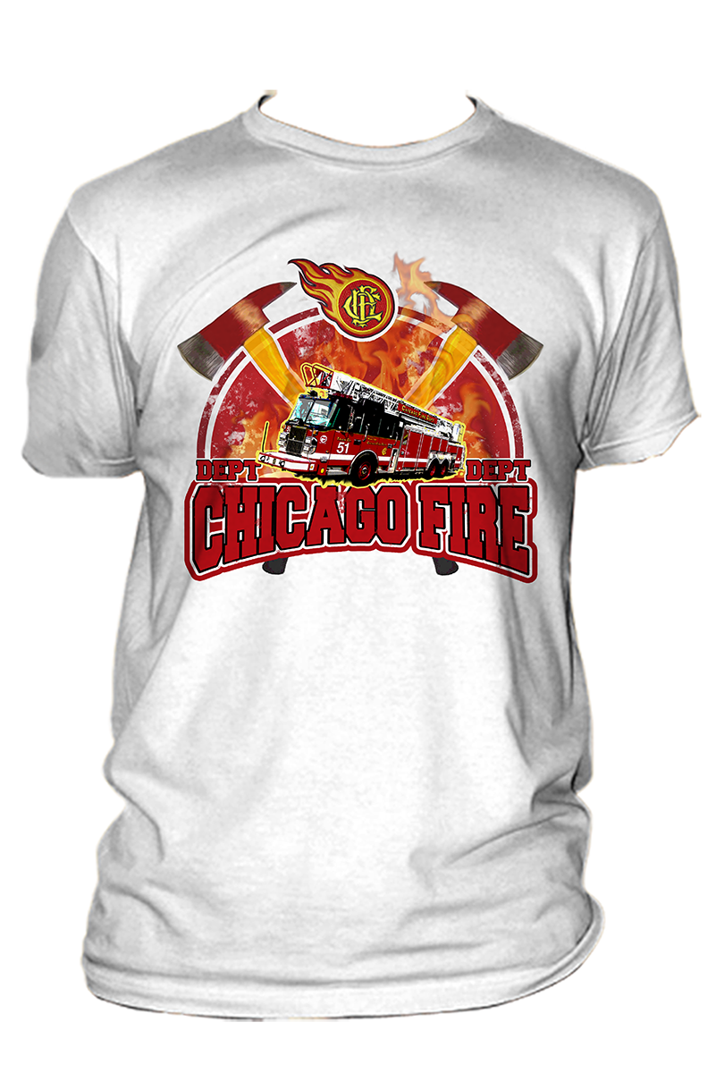 17 professional modern t shirt designs for a business in for Fire department tee shirt designs