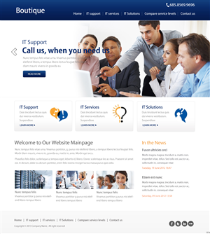 Wordpress Design by pb - Custom Wordpress Theme - Original and Professional