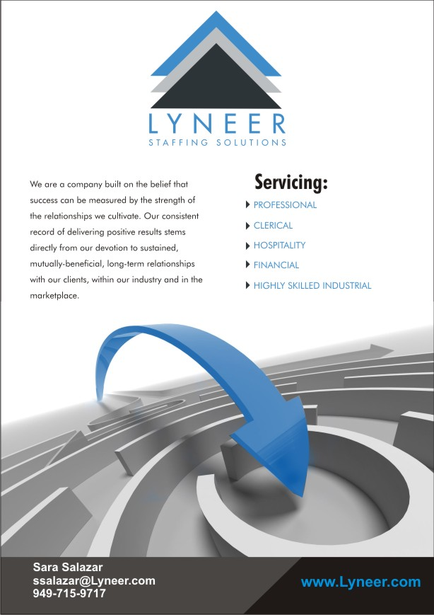 Captivating Advertisement Design By SUNEEEEEL For Lyneer Staffing Solutions | Design  #10822244