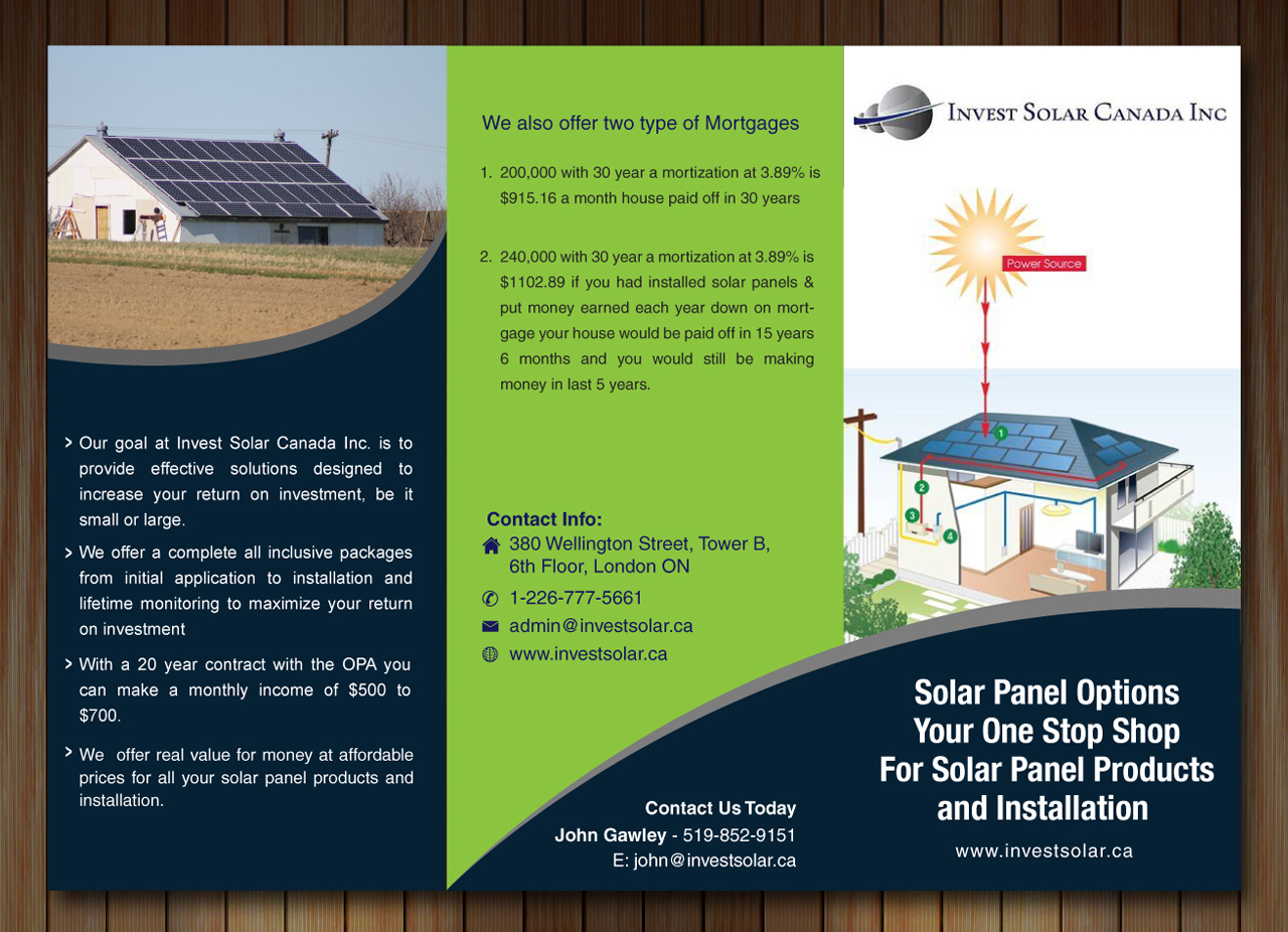 brochure design by sbss for this project design 2366726