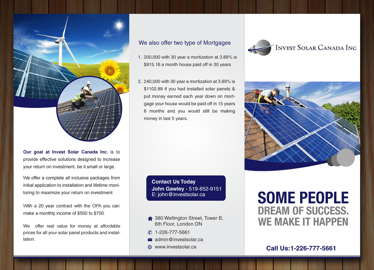 brochure design by sbss for this project design 2367001