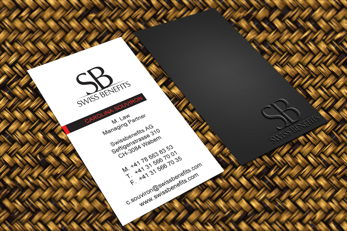 Business card design for swiss care by harshan design 2263616 business card design by harshan for business card design project design 2263616 colourmoves Image collections