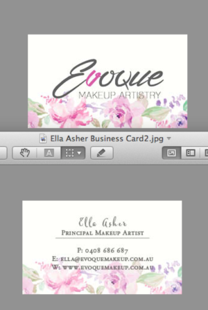 Women business card design galleries for inspiration business card for makeup artist business card design by rryan reheart Images