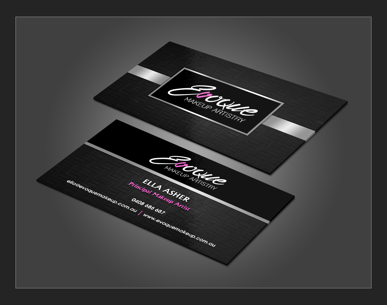 Elegant playful business business card design for a company by business card design by owaisias for this project design 10863813 reheart Images