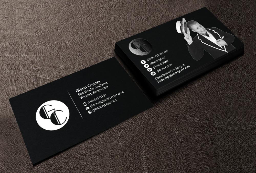 Performing Art Business Card Design