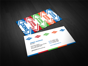 51 colorful modern small business business card designs for a