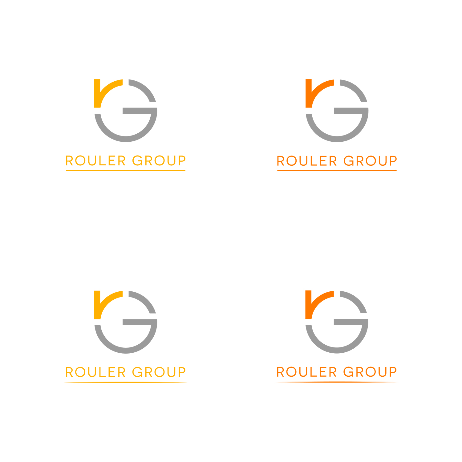 Professional bold business logo design for rouler group for Consulting company logo