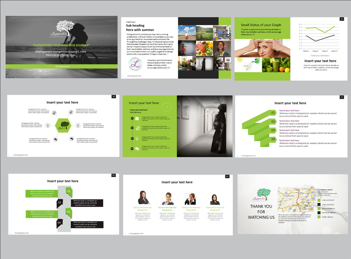 modern powerpoint design