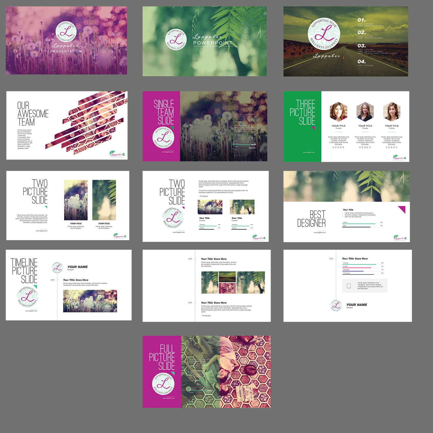 Modern Upmarket Powerpoint Design For Nani Courten By