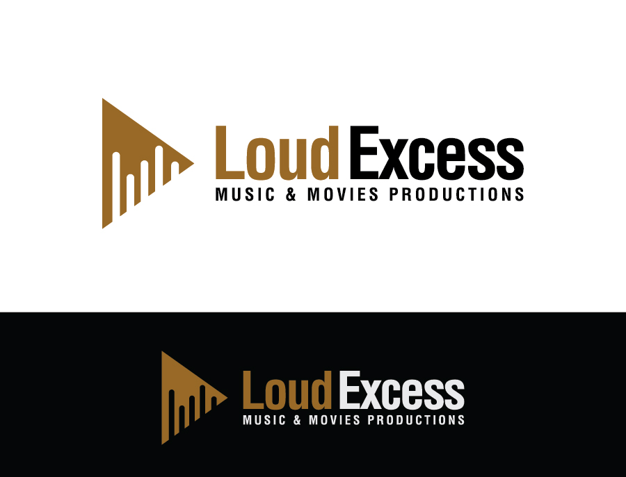 Serious Modern Youtube Logo Design For Loud Excess By Debdesign