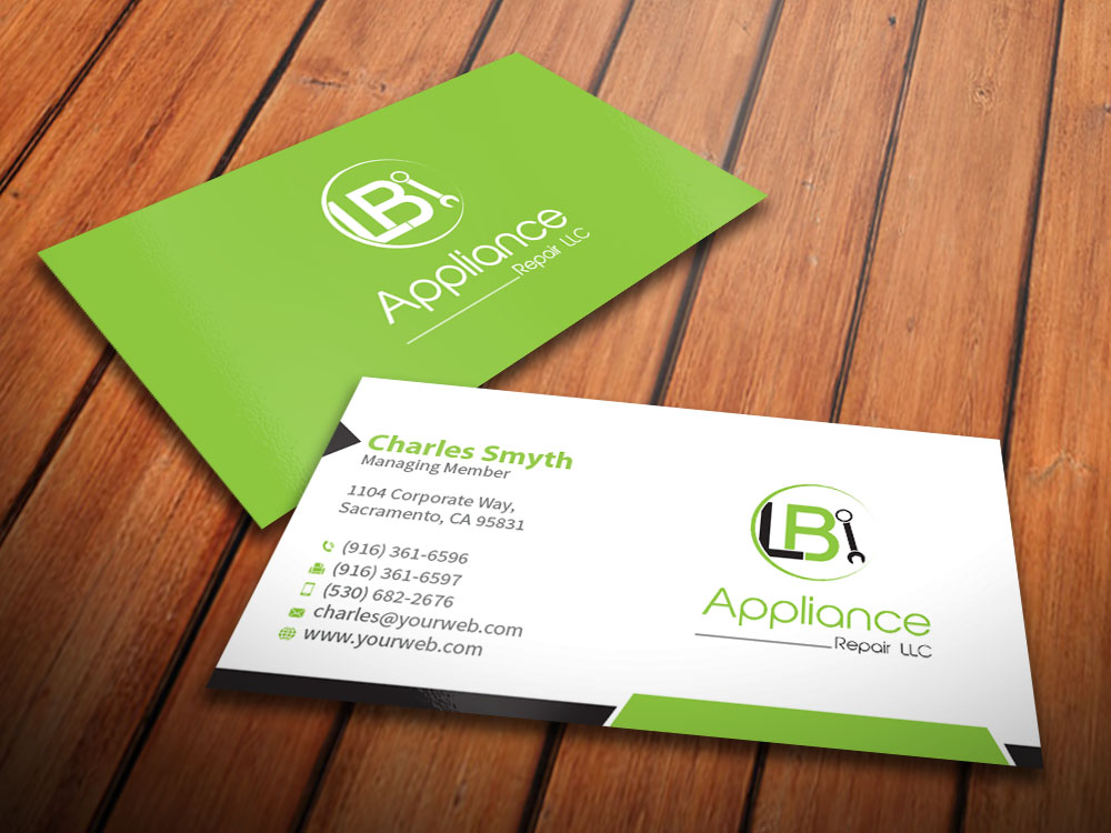 Professional, Elegant Logo Design for LB appliance repair LLC by ...