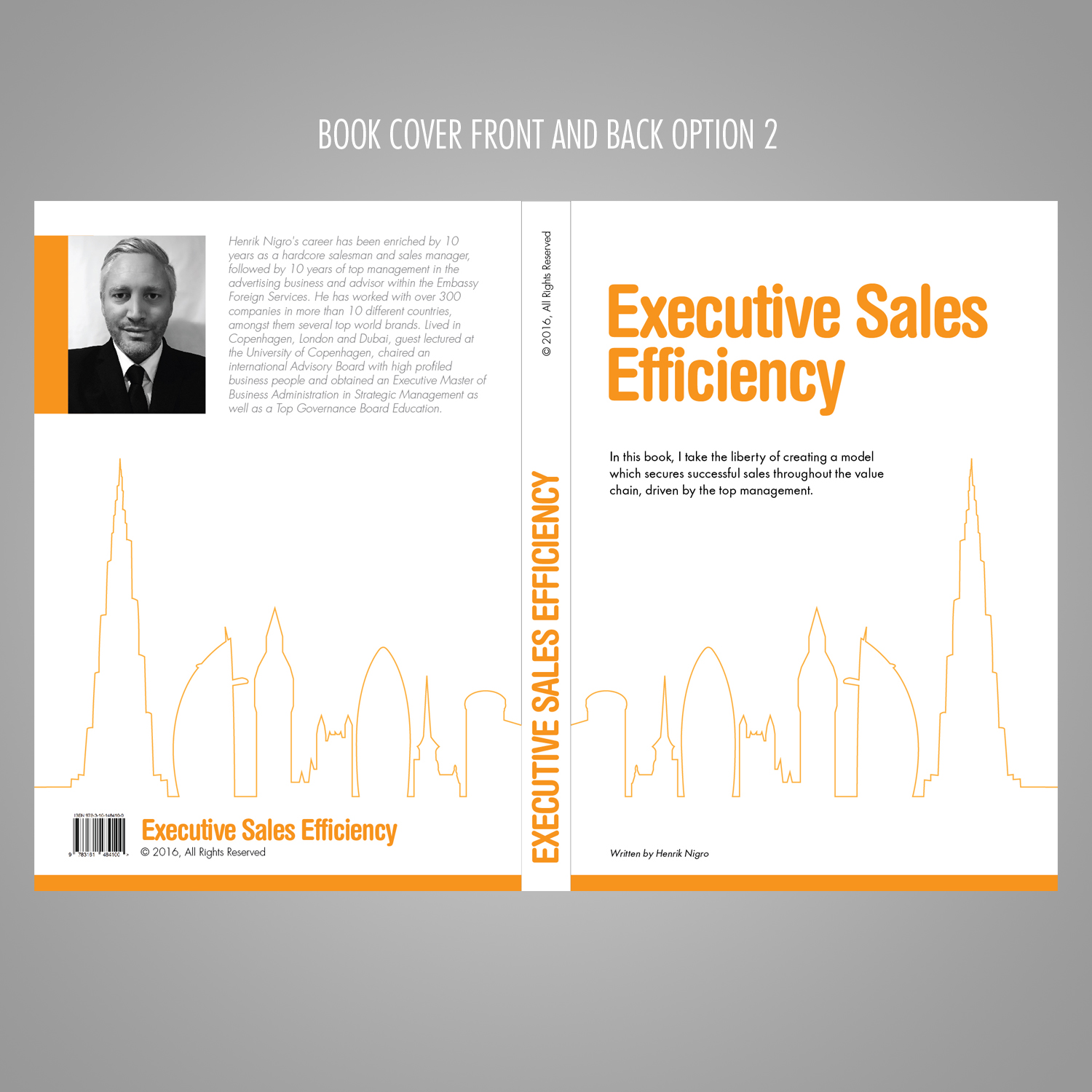 Book Cover Design Jobs : Modern upmarket management consulting book cover design