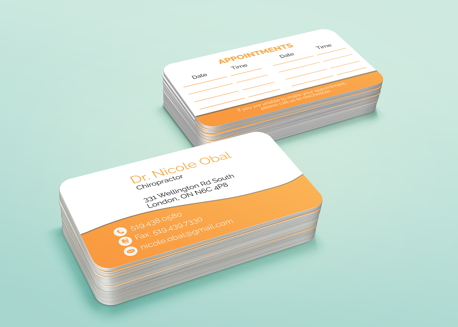 Modern, Professional, Medical Business Card Design for a Company by ...