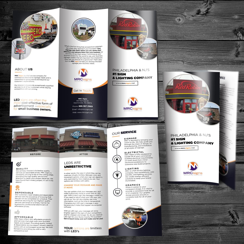brochure design prices