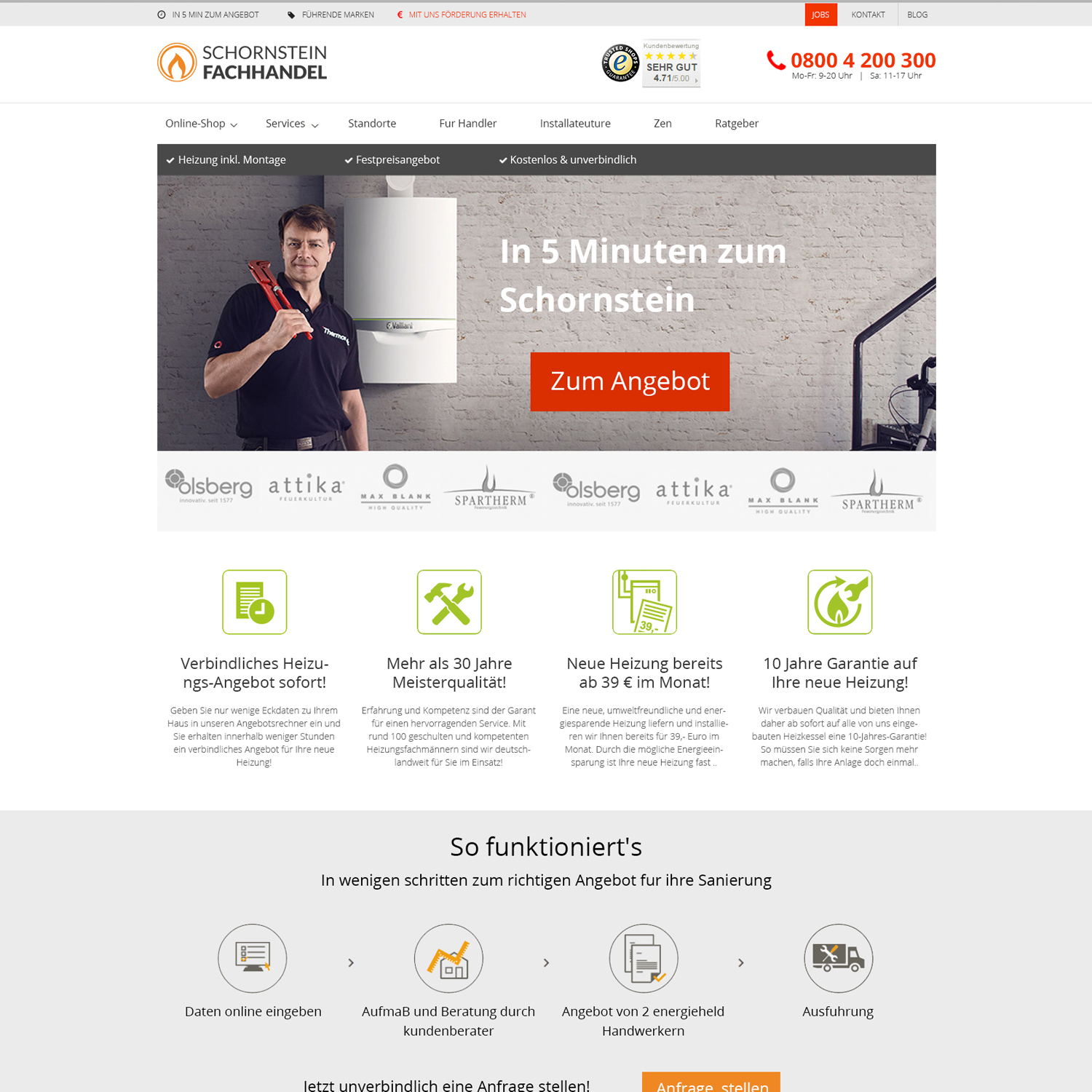Professional, Serious, Home Builder Web Design for iKontor GmbH by ...