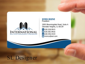 Real estate business card designs real estate business card design by sl designer reheart Gallery