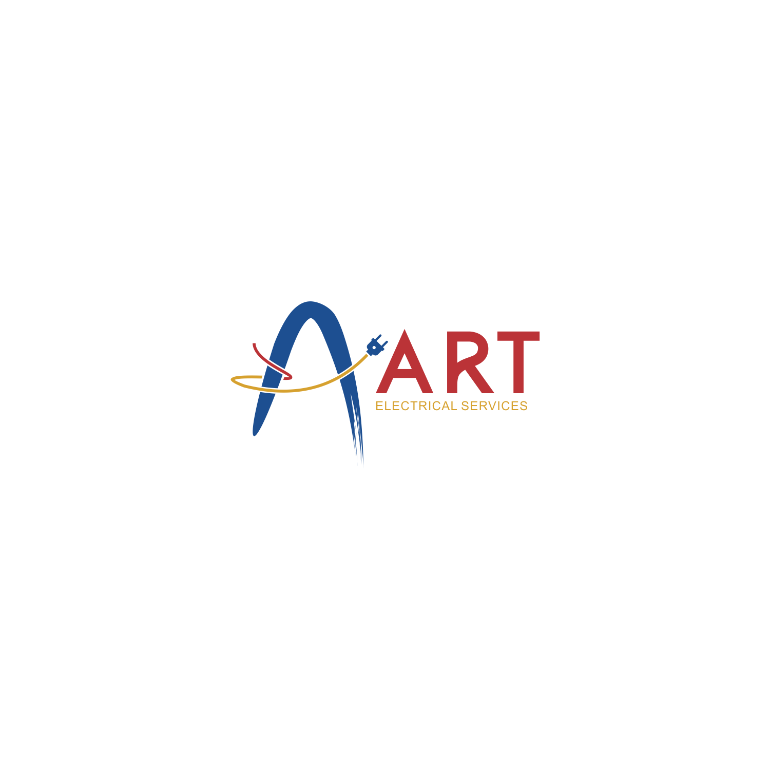 Elegant Serious Logo Design For Art Electrical Services