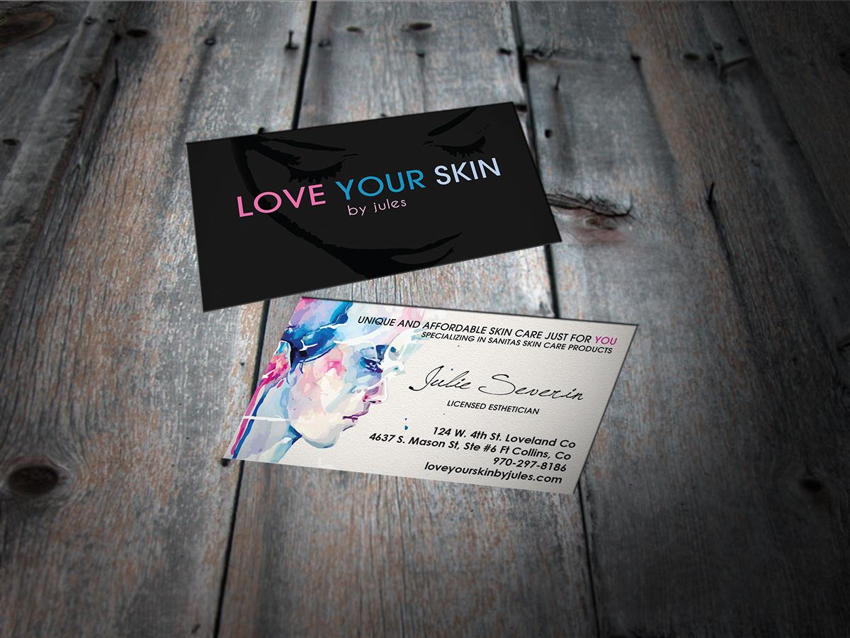 Business Card Design for Julie Severin by MT | Design #2293355