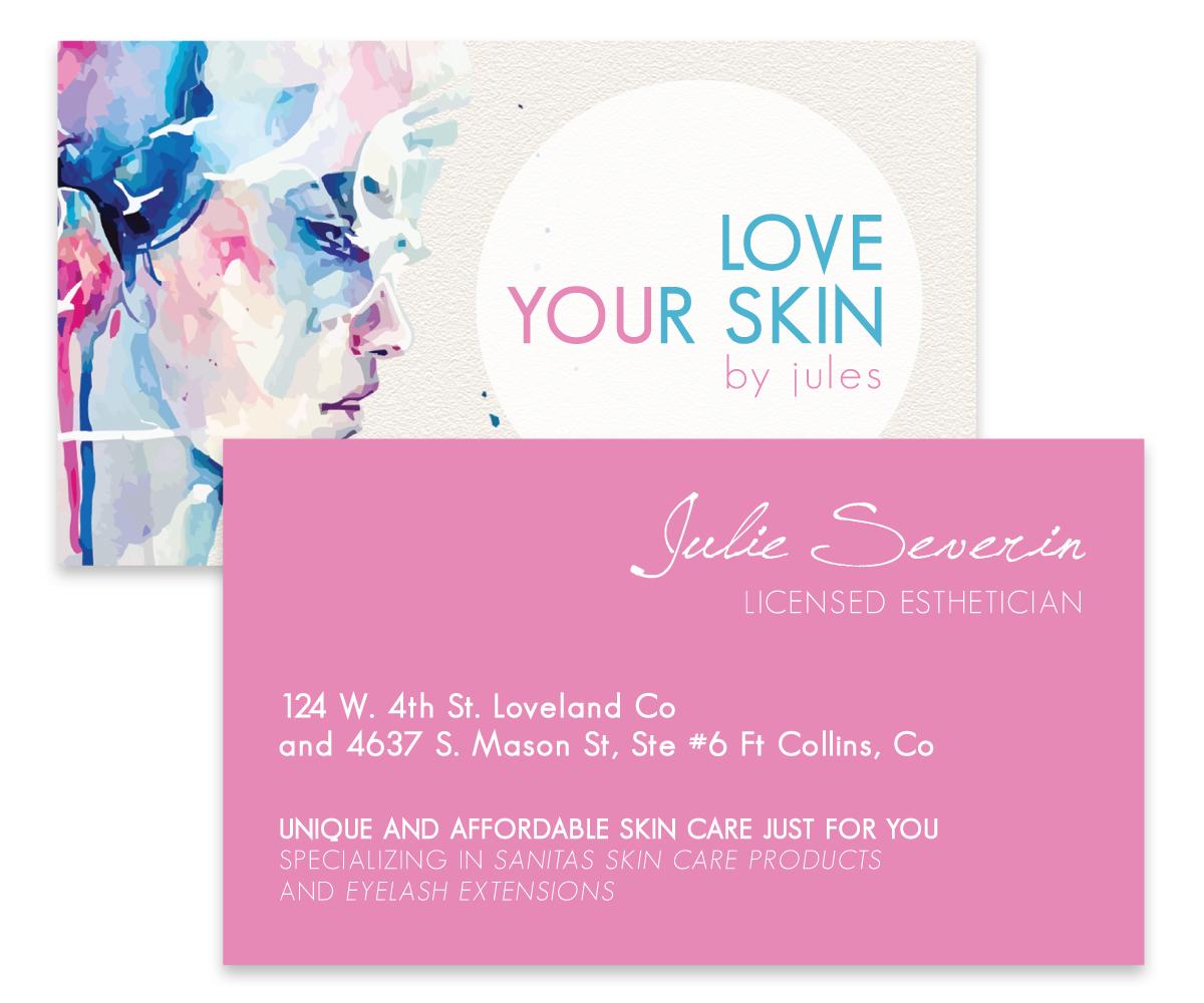 Business Card Design for Julie Severin by Juice for Breakfast ...
