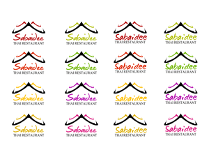 Logo Design job – Logo Needed for SabaIdee Thai  Restaurant - Authentic Thai Cuisine Served With A Smile – Winning design by daxtadaniel