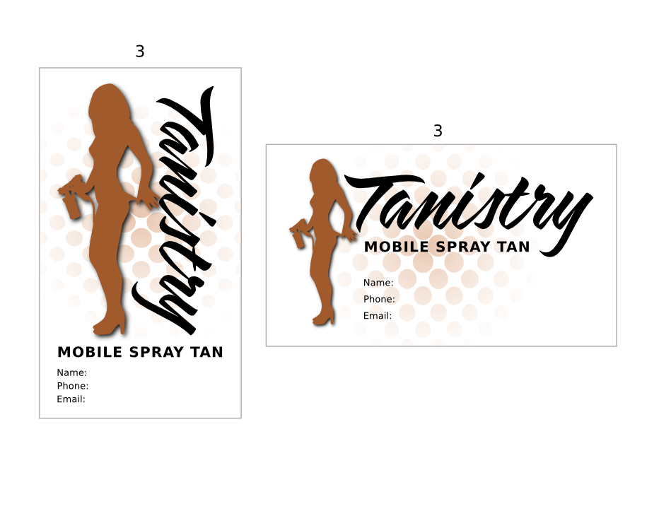 hair logo design for tanistry by fusebox 3d design 2312756 logo design by fusebox 3d for this project design 2312756