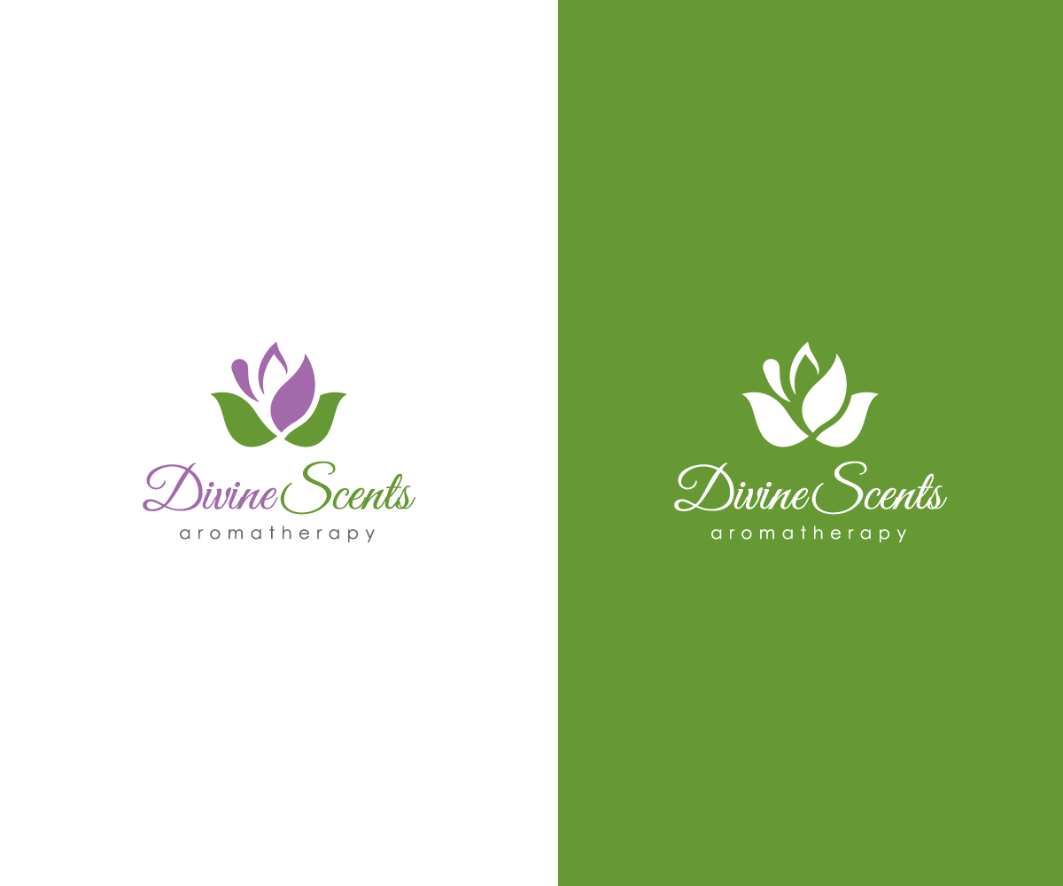It Company Logo Design For Divine Scents Aromatherapy By Maxx Design 11233657