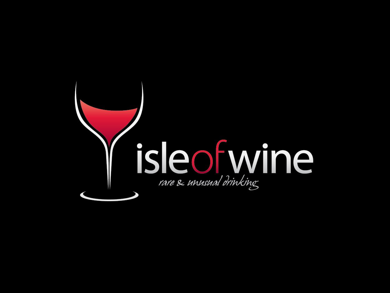 Isle of Wine Logo Design by bluejet