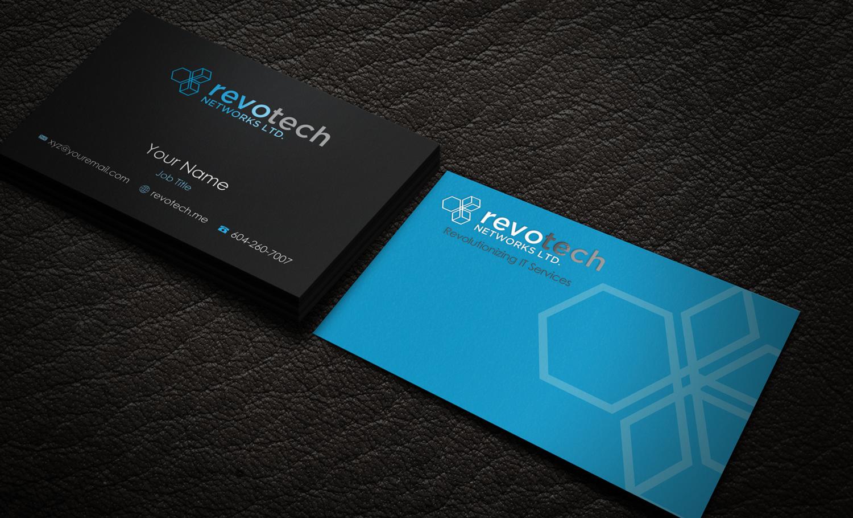 Modern, Bold, Information Technology Business Card Design for ...
