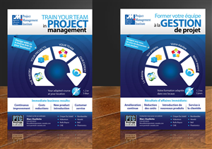 Flyer Design by DesignConnection - One page flyer for project management adapted c...