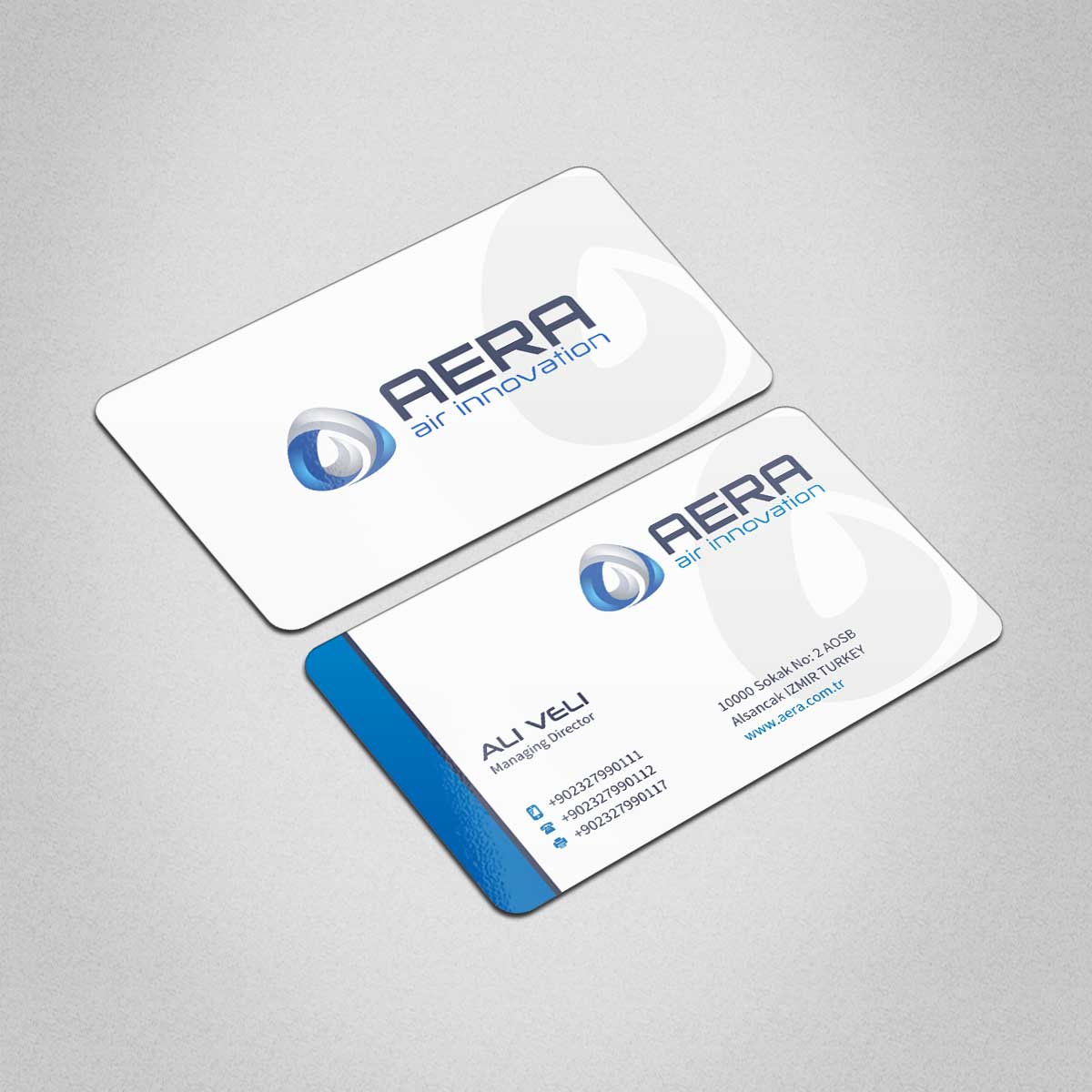 Professional, Elegant, Business Business Card Design for aera by ...