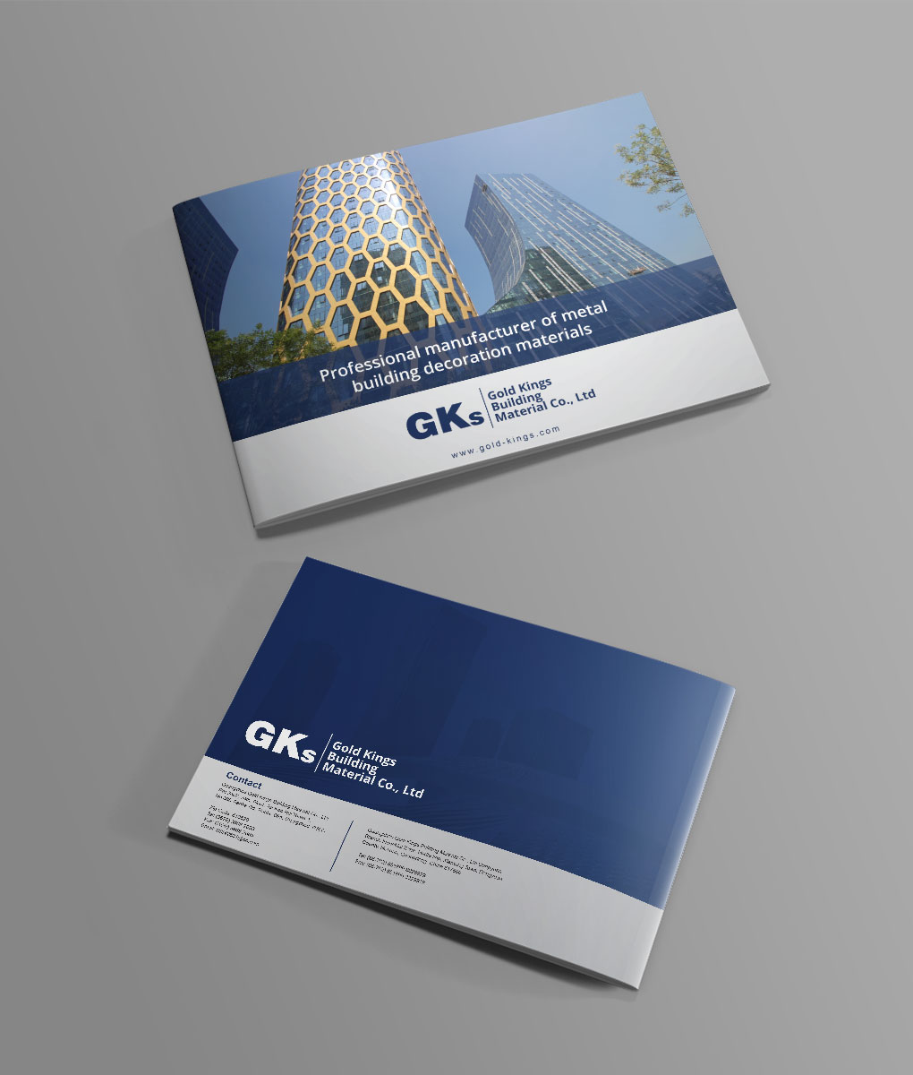 Serious modern it company brochure design for guangzhou gold kings brochure design by orlyaffran for guangzhou gold kings building material coltd design reheart Images
