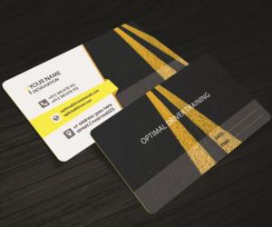 Custom Driver Business Card Designs