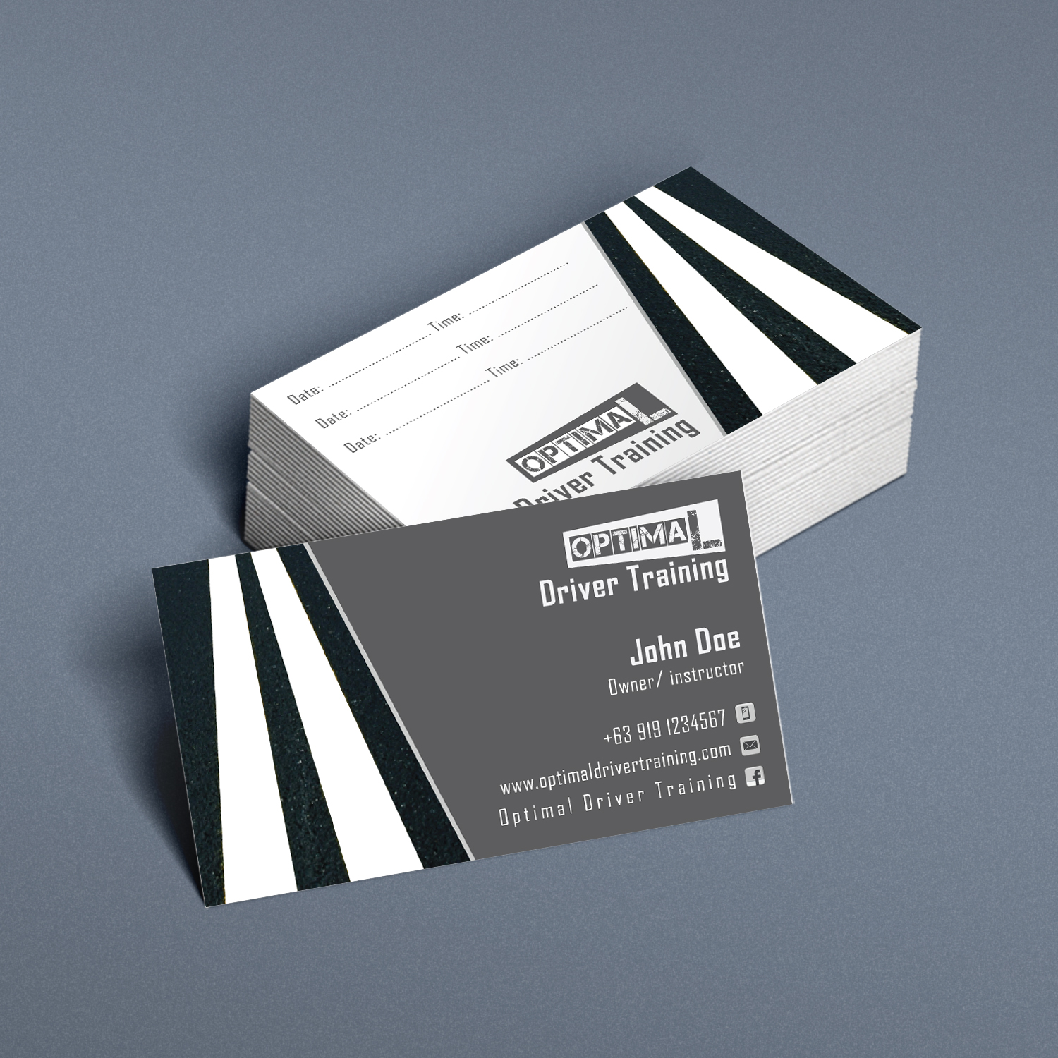 Business Card Design By Kreative Fingers For This Project 11007109