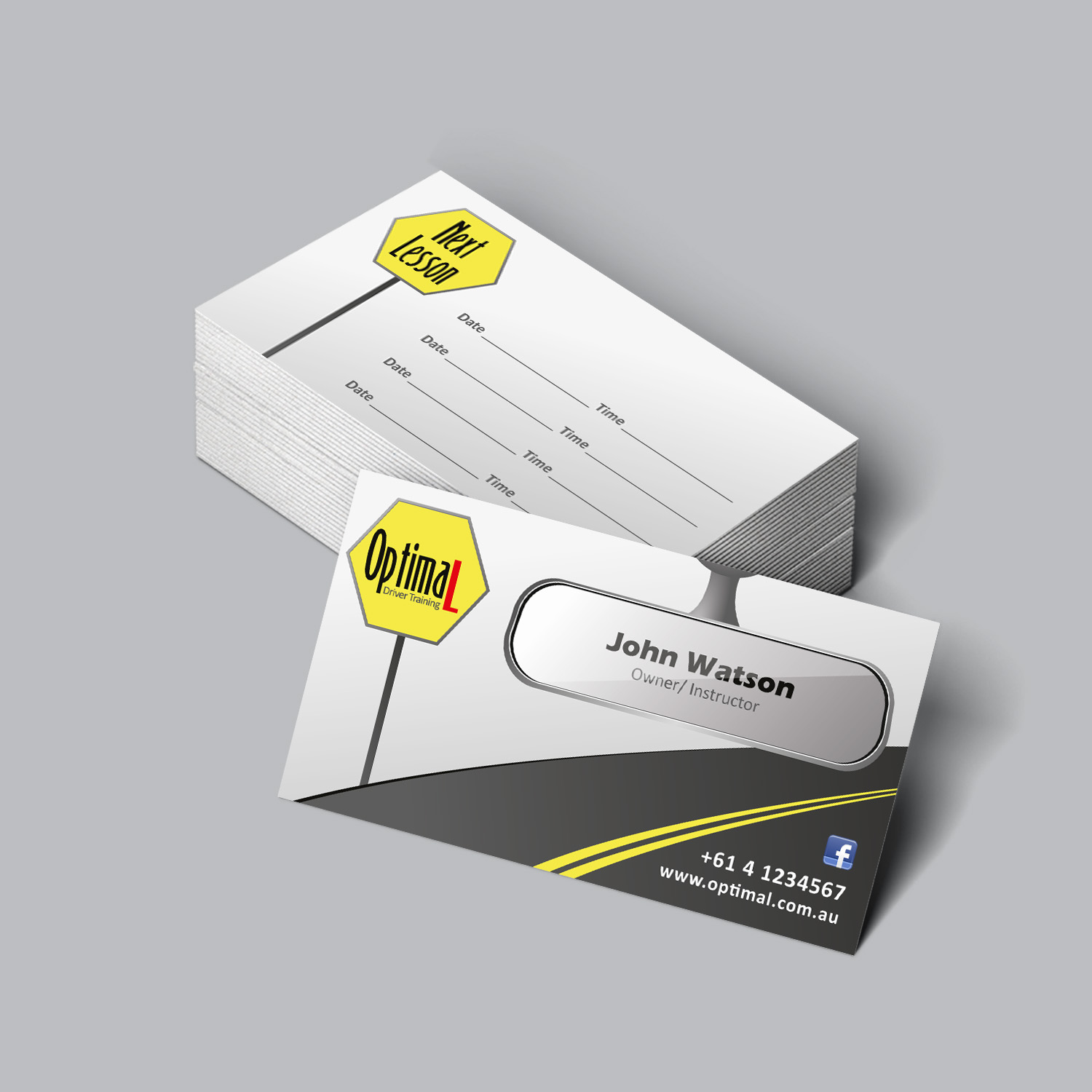 Modern, Professional Business Card Design by tanmoy.pramanik ...