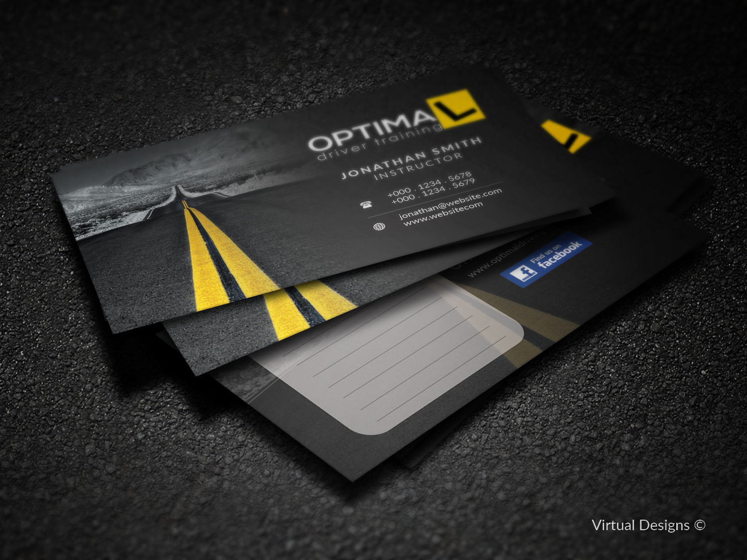 Business Card Design By Virtual Designs For This Project 10985337
